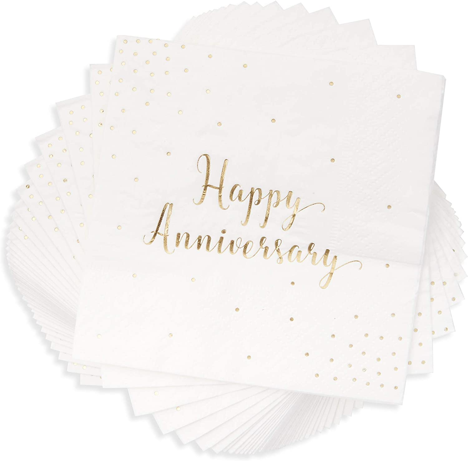 Customized Paper Napkin Anniversary