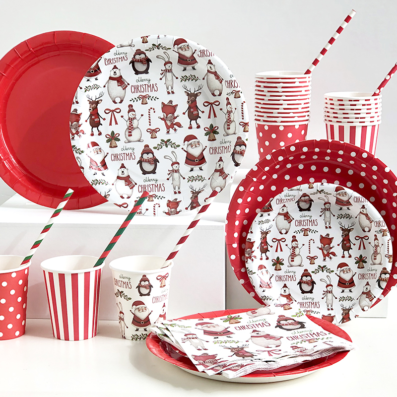 Lovely Xmas tableware