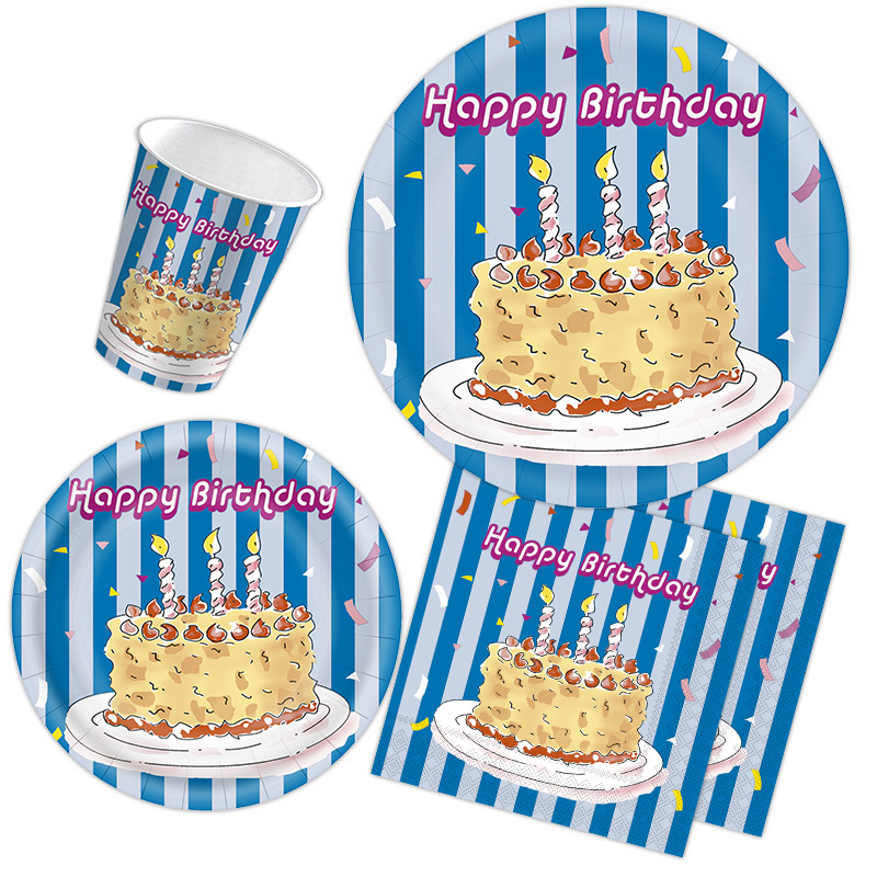 Delicious Birthday cake party favors
