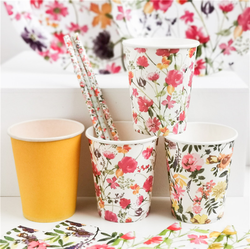 Paper Cup Wild Flowers