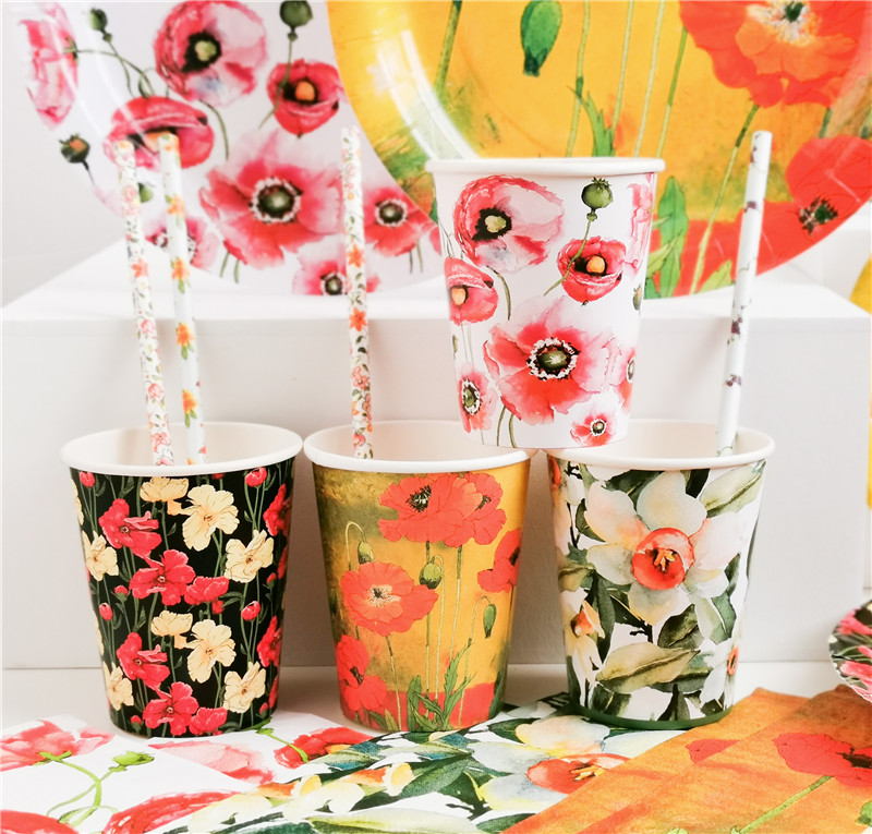 Paper Cup Floral