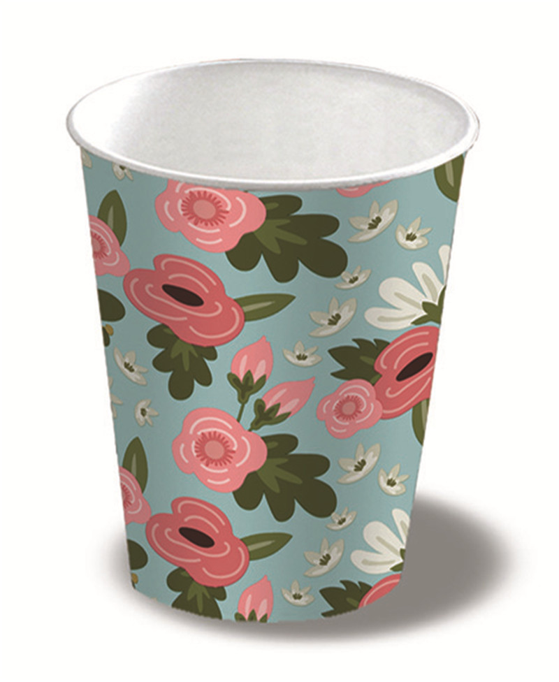 Paper Cup Poppy Blue